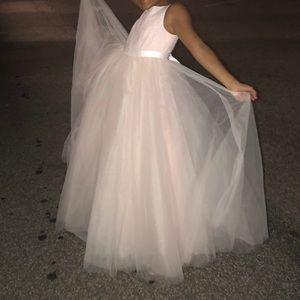David's bridal girls dress